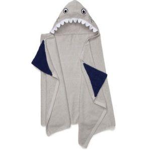 New Shark Boys Hooded Bath Towel
